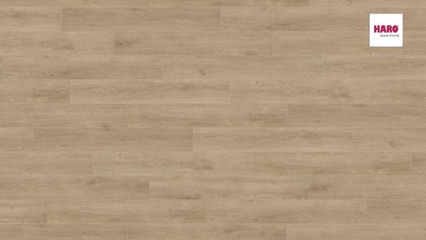 535261 HARO Laminatboden Landhausdiele 4 V Eiche Veneto crema authentic matt Ver