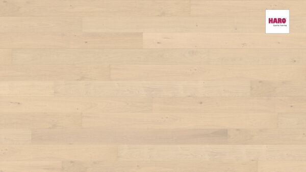 535443 HARO PARKETT Landhausdiele 2 V Eiche sandweis Markant strukturiert Ver