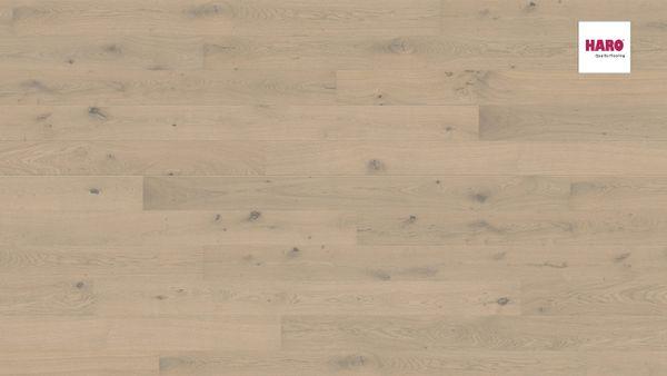 535450 HARO PARKETT Landhausdiele 2 V Eiche sandgrau Sauvage strukturiert Ver