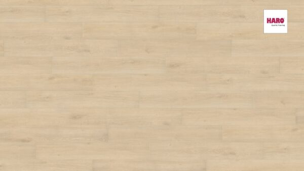 537369 HARO Laminatboden Landhausdiele 4 V Eiche Veneto sand authentic matt Ver